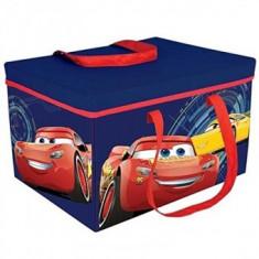 Cutie pentru depozitare jucarii Copii transformabila Cars 3