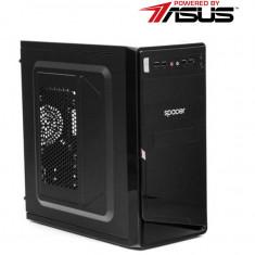 Sistem desktop Powered by ASUS Starter Plus 2021 Intel Celeron J1800 2.41Ghz 8GB RAM HDD 500GB DVD-RW nVidia GeForce GT 710 2GB Free DOS Black