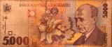 ROMÂNIA 5.000 LEI 1998