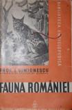 FAUNA ROMANIEI - PROF . I . SIMIONESCU