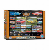 Cumpara ieftin Puzzle Eurographics - American Cars of the 1960s, 1000 piese