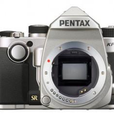 Aparat Foto D-SLR Pentax KP Body, 24MP CMOS (Argintiu)