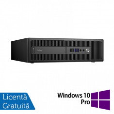 Calculator HP Prodesk 600 G2 SFF, Intel Core i5-6500 3.20GHz, 8GB DDR4, 500GB SATA, DVD-RW + Windows 10 Pro