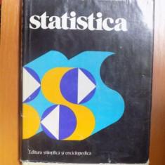 STATISTICA , CONCEPTE , PRINCIPII , METODE de C. MOINEAGU , I. NEGURA , V. URSEANU , Bucuresti 1976