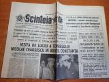 scanteia 25 aprilie 1984-vizita lui ceausescu in  constanta si mangalia