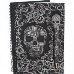 Set agendă / jurnal cu coperți din rășină si pix Baroque