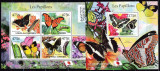 DB1 Fauna Flora Fluturi Comore II MS + SS MNH