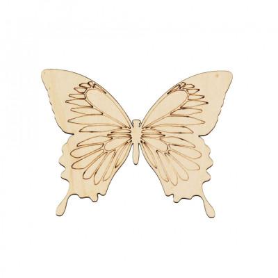 Figurina Fluture din Lemn F2 - 130x100 mm foto