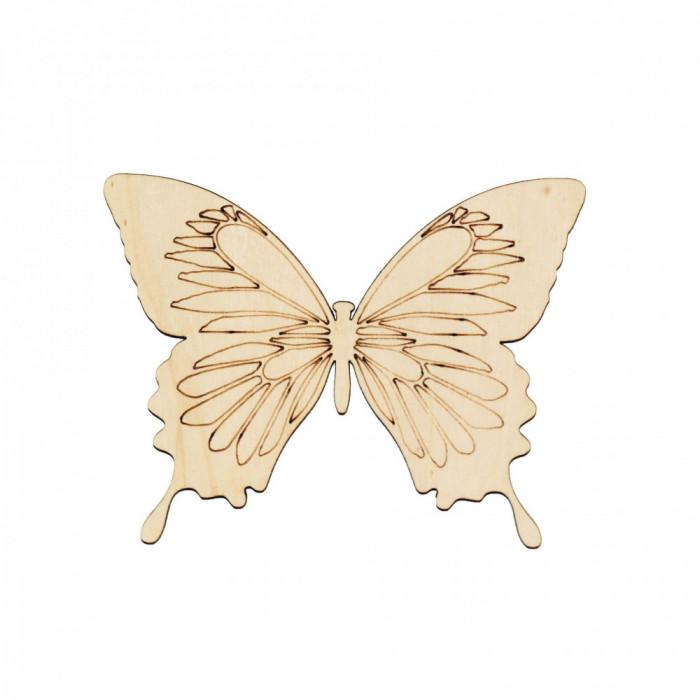 Figurina Fluture din Lemn F2 - 130x100 mm