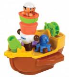 Jucarie de baie -corabia piratului jack apăsați pe capul caracatiței!