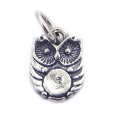 Pandantiv Argint 925, Model Bufnita Patinata