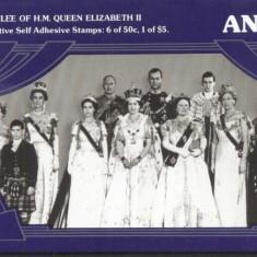 Antigua 1977 Silver jubilee Queen Elizabeth II BOOKLET S.701