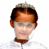 Cumpara ieftin Viziera Profesionala Protectie Copii, transparenta, usoara, dezinfectabila, reutilizabila, Neo Face