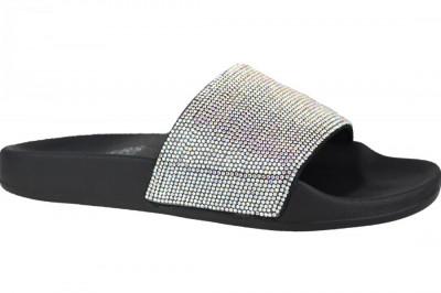 Papuci Skechers Pop Ups-Stone Age 32369-BLK pentru Femei foto