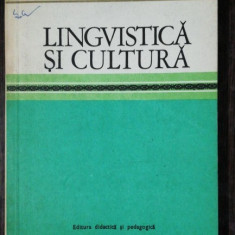 LINGVISTICA SI CULTURA -D.MARCEA