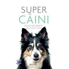 Super caini. Povesti adevarate despre curajul canin - Ben Holt