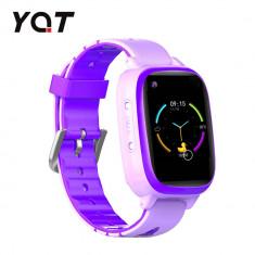 Ceas Smartwatch Pentru Copii YQT T5 cu Functie Telefon, Apel video, Localizare GPS, Istoric traseu, Apel de Monitorizare, Camera, Lanterna, Android, 4