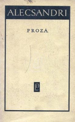Proza (Alecsandri) (1967) foto
