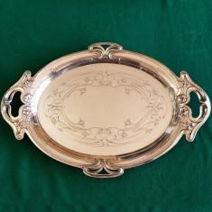 PLATOU,TAVA PENTRU SERVIT ARGINTATA-WMF-GERMANIA 1900-stil SECESSION,JUGENDSTIL