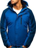 Geacă de iarnă pentru bărbat albastra Bolf HZ8102