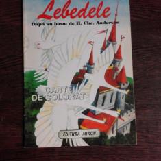 LEBEDELE, DUPA UN BASM DE H.CHR. ANDERSEN, CARTE DE COLORAT