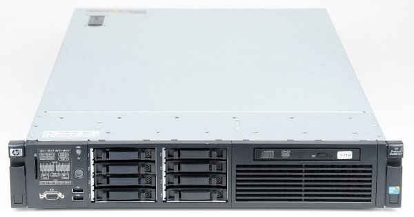 Server HP ProLiant DL380 G7, Rackabil 2U, 2 Procesoare Intel Six Core Xeon X5670 2.93 GHz, 64 GB DDR3 ECC, 8 Bay-uri de 2.5inch, DVDRW, Raid Control