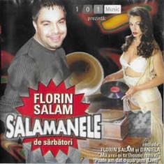 CD Florin Salam – Salamanele De Sarbatori, original, manele