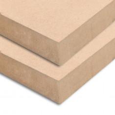 Plăci MDF pătrate, 2 buc., 60 x 60 cm, 25 mm