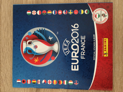 Panini Euro 2016 Album gol (Versiunea Maghiara) foto