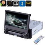 """Radio MP3 MP4 Bluetooth Touchscreen DVD 7"""" Android 5.1 Google Play 1DIN"""