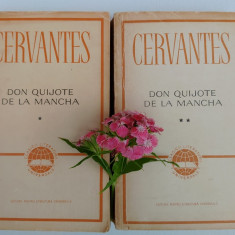 Cervantes, Don Quijote (vol I, II)