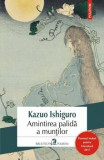 Amintirea palida a muntilor Editia 2017/Kazuo Ishiguro