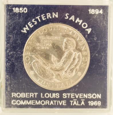 1 tala, 1969 Samoa UNC/ necirculata - comemorativa, tiraj mic 25000 piese foto