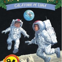Portalul magic 8: Calatorie pe luna - Mary Pope Osborne