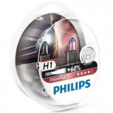 Set 2 becuri H1 12V 55W VISION PLUS, Philips