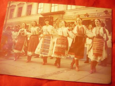 Fotografie  cu Ansamblu Olandez - dansuri populare romanesti ,anii '70 foto