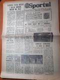 Sportul 25 februarie 1980-optimile de finala ale cupei romaniei la fotbal