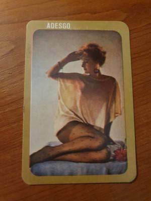 calendar de buzunar din anul 1988 foto