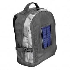 Rucsac pentru laptop cu incarcator solar Bresser, baterie 1800 mAh, geanta transport