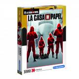 Puzzle clasic - La Casa De Papel, 1000 de piese, Clementoni