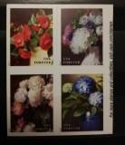 USA, flori, timbre adezive, 2017, MNH