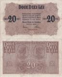 1917, 20 lei (P-M6) - România
