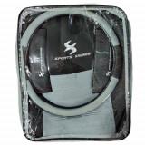 Huse scaun Sport Series 13buc - Negru/Gri Garage AutoRide