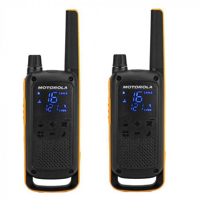 Resigilat : Statie radio PMR portabila Motorola TALKABOUT T82 Extreme set cu 2 buc