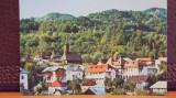 R.S.R. - OLANESTI - VEDERE DE PE DEAL A STATIUNII - CIRCULATA, TIMBRATA., Baile Olanesti, Fotografie