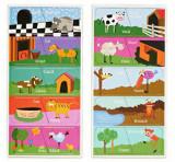 Joc magnetic Momki - Lumea animalelor