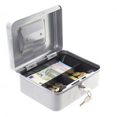 Caseta bani tip2 argintiu