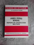 PRIMUL RAZBOI MONDIAL, REPERE DE CRONOLOGIE MILITARA - VICENTIU COJAN