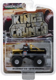 Cumpara ieftin Gulf Oil Super Special - 1971 Chevrolet K-10 Monster Truck Solid Pack - Kings of Crunch Series 1 1:64