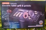 Grătar și plită electrică Astoria Grill & Griddle, 2300W, 2 în1